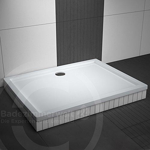 rechteck duschwanne duschtasse aquabad komplettset comfort basic 70x90cm inkl styroportrger und ablaufgarnitur siphon viega tempoplex - Ablaufgarnitur Dusche Montieren