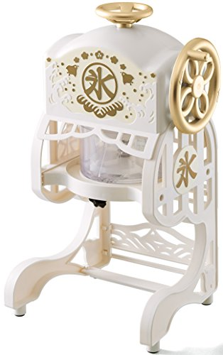 ドウシシャ 電動本格ふわふわ氷かき器 ホワイトゴールド DCSP-1651W