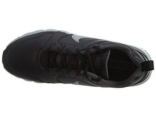 Sneakers Nike Air Max Motion In Pelle - Nero / Grigio Lupo Nero / Grigio Lupo-grigio Scuro