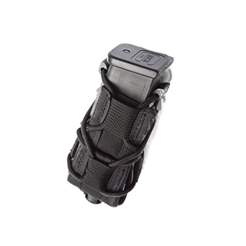 [High Speed Gear Pistol Taco Mag Pouch ~ Black, 2 Pack] (Gear Rifle)