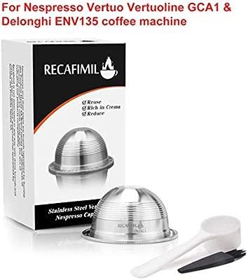 Garciasia Cápsula de café recargable Filtro de cápsula ...