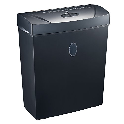 Bonsaii 8-Sheet Cross-Cut Paper Shredder, Overload and Thermal Protection (C170-A) by bonsaii