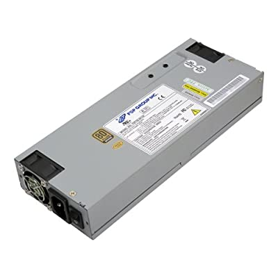 FSP Group 300W ATX power Supply 1U size for rack mount Case Power Supply 80 Plus Industrial Grade PC (FSP300-701UH )