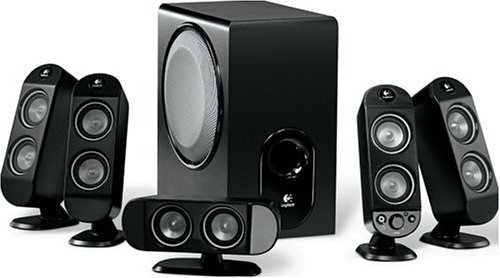Logitech X-530 5.1 Speaker System [並行輸入品] B071R46BJM