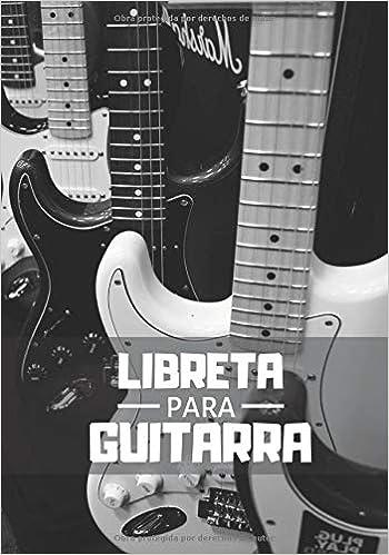 Libreta Para Guitarra: Planificador Semanal de 52 Semanas | 105 ...