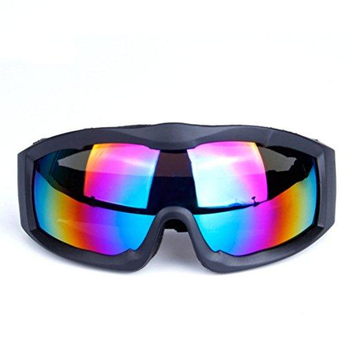 Gafas de A Vidrios Viento PC Prueba explosiones Lente Parabrisas Capa Prueba Ojo de de una de esférica Espejo esquí a A Sola rBrHq1z