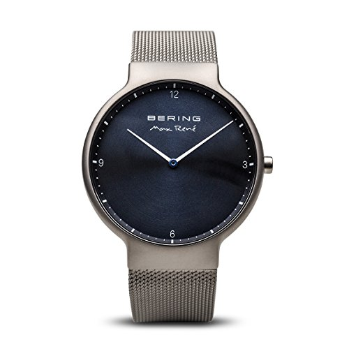 - BERING Time 15540-077 Mens Max René Collection Watch with Mesh Band and Scratch Resistant Sapphire Crystal. Designed in Denmark.