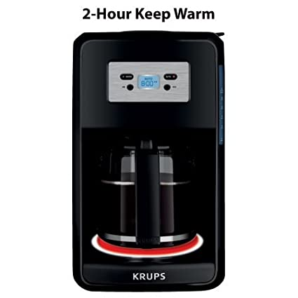 Amazon.com: Krups 12-cup programable digital COFFEE Maker ...