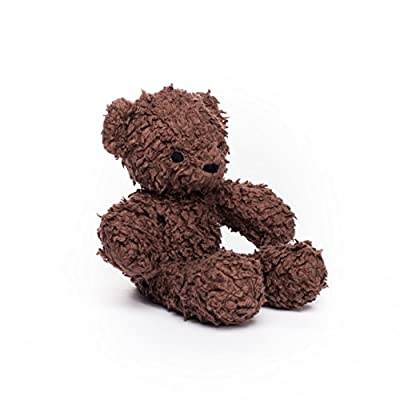 Sherpa Baby Organic Teddy Bear Brown 12 Inches: Toys & Games