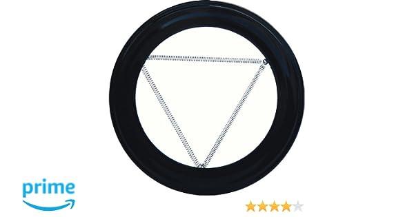 Wolfpack 22010905 Plafón Embellecedor de Color Negro Para Estufa 110mm: Amazon.es: Bricolaje y herramientas