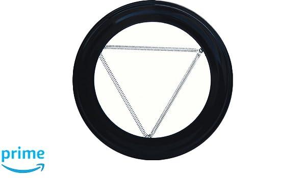 Wolfpack 22010915 Plafón Embellecedor de Color Negro para Estufa 150mm: Amazon.es: Bricolaje y herramientas