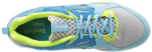 Reebok Sublite Prime Running Shoe Steel/Blue Bomb/Neon Yellow/Hydro Blue/White oJzaN9