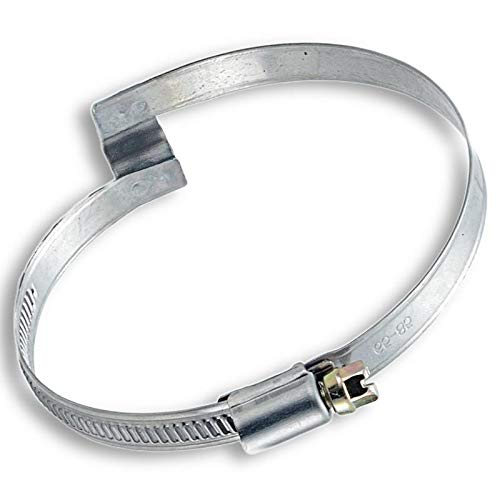 Leaf Vacuum Bridge Hose Clamps (6'' 7'' 8'' Diameters) by Universal Hose and Fittings