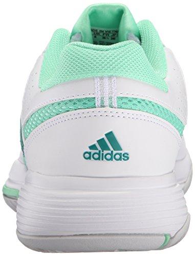 Adidas Performance Kvinner Barrikaden Domstol 2 W Trening Sko Hvit / Utstyr Grønn / Grønn Glød