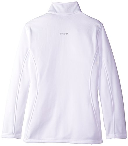 Spyder para mujer empoderar Sweater, mujer, color White/White, tamaño XL White/White