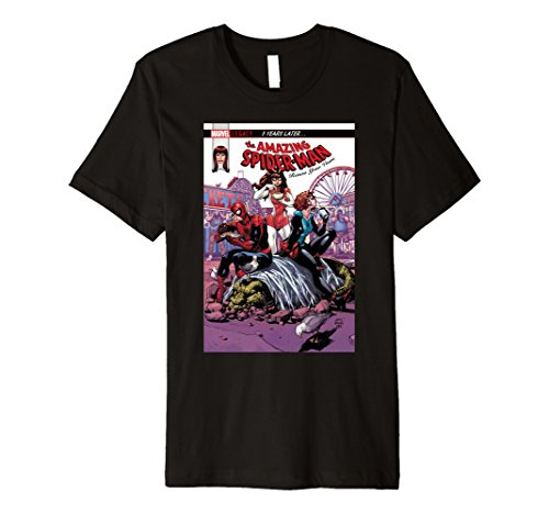 Marvel The Amazing Spider-Man Vows Cover Premium T-Shirt