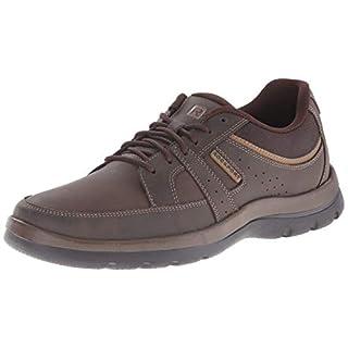 Rockport Men's Get Your Kicks Blucher Brown Sneaker 11 M (D)-11  M