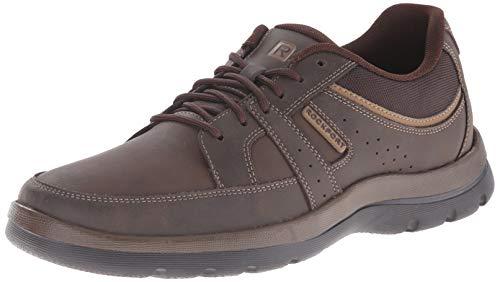 Rockport Men's Get Your Kicks Blucher Brown Sneaker 12 M (D)-12  M