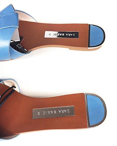 Sandalo Donna 301 In 2640 Pelle Basso Zara Incrociata qSaCzw8nF