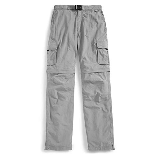 - EMS Men's Camp Cargo Zip-Off Pants Neutral Grey 34/32