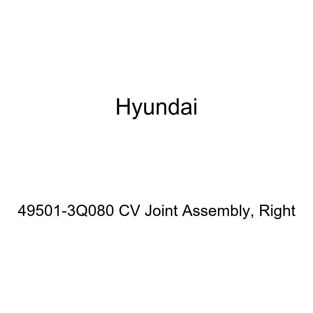Genuine Hyundai 49501-3Q080 CV Joint Assembly Right