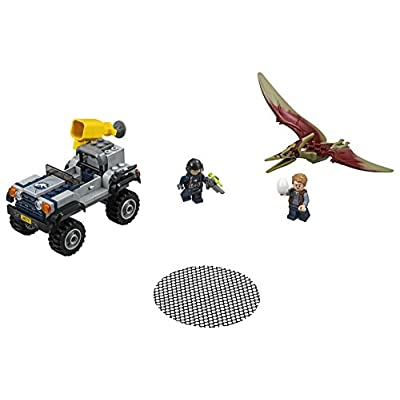 LEGO Jurassic World Pteranodon Chase 75926 Building Kit (126 Pieces): Toys & Games