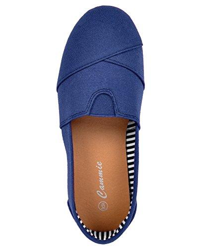 Tela Donna Andare Ovunque Scarpe Blu