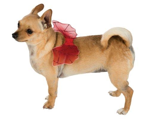 Devil Dog Pet Costume (Rubie's Pet Costume Devil Wings, Small to Medium)
