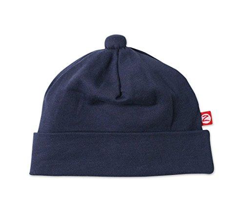 Zutano Baby Boys' Primary Solid Hat -Navy - 18 Months (Cotton Hat Zutano)