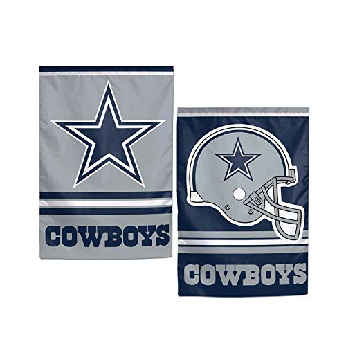 WinCraft NFL Dallas Cowboys WCR08366013 Garden Flag, 12.5'' x 18''