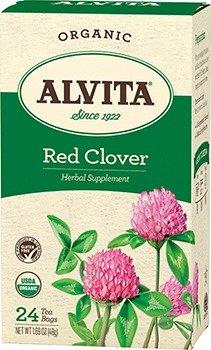 Alvita Organic Red Clover Tea 24 ea