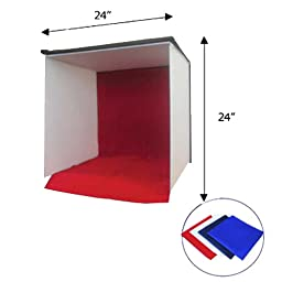 Cowboystudio 24-Inch Photography Tent Studio Light Box/Tent