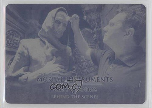 Special Make-Up Effects #1/1 (Trading Card) 2013 Leaf The Mortal Instruments: City of Bones - Behind the Scenes - Printing Plate Black #BTS-8