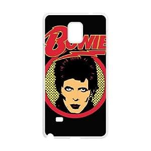 Samsung Galaxy Note 4 Cell Phone Case White David Bowie 004 WON6189218994753
