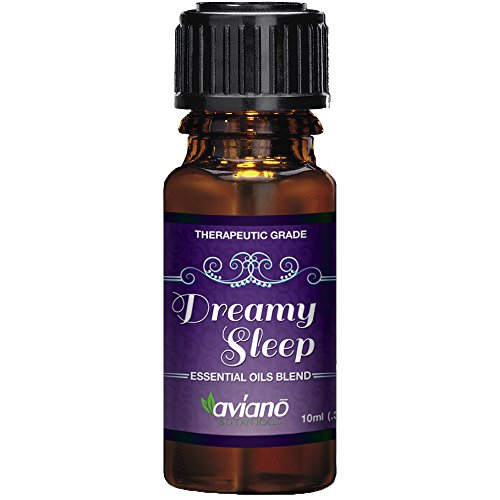 Price comparison product image Dreamy Sleep Synergy Essential Oil Blend for Good Night - 100% Pure & Premium Essential Oil Blend By Aviano Botanicals