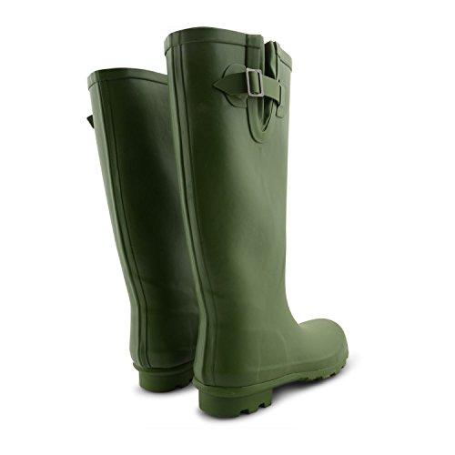 Footwear Sensation - Botas para mujer - Green Wide Fit
