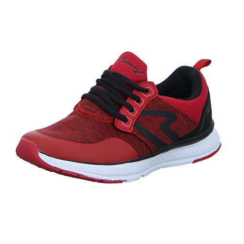Sneakers LT-SS16002 Damen Schnürhalbschuh Rot (Rot)