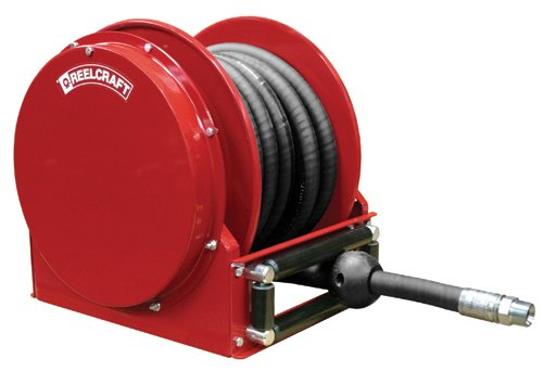 Reelcraft FSD13050 OLP Spring Retractable Fuel Hose Reel, 3/4