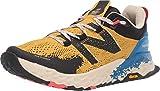 New Balance Men's Hierro V5 Fresh Foam Trail Running Shoe, Varsity Gold/NEO Classic Blue, 10 2E US