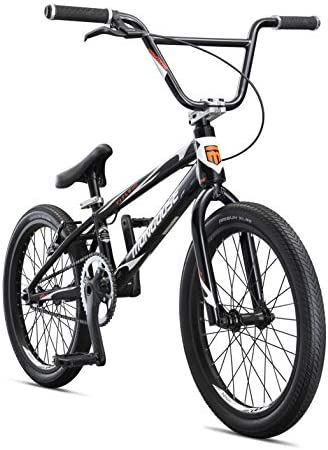 Mongoose Title Elite Pro BMX Race Bike, 20-Inch Wheels, Advanced Riders, Professional-Grade Tectonic T1 Biaxial Hydroformed and Butted Aluminum Frame