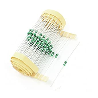 100Pcs Axial Lead Type 100uH Color Ring Fixed Inductors