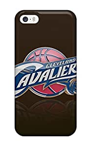 Durable Case For The Iphone 5/5s- Eco-friendly Retail Packaging(cleveland Cavaliers Nba Basketball (30) )