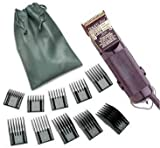 oster fast feed clipper black - Combo New Oster Classic Power line from the 76 family Hair clipper Black (made in usa) Free (10 piece universal oster comb set)