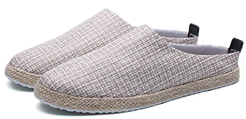 Scarpe Scarpe Sandali Da Pigre In Baotou Uomo Lino Pantofole MYXUA Casual Casual 3 Y8nxFpH