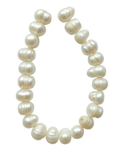 tennessee-crafts-4007-pearls-white-fresh-water-pearl-potato-9-by-10mm-beads-20-piece