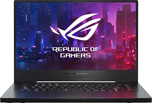 "ASUS ROG Zephyrus G GA502DU-BQ015 - Portátil Gaming de 15,6"" FullHD (Ryzen 7 3750H, 8GB RAM, 512GB SSD, GeForce GTX1660Ti 6GB, Sin sistema operativo) Metal Negro - Teclado QWERTY español 1"
