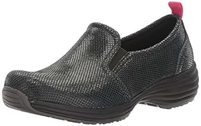 Sanita Women's Laylah-Koi Lite Work Shoe, Black, 36 EU/5.5/6 M US