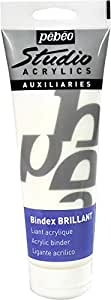 Pebeo Studio Acrylics Mediums - Ligante acrílico (250 ml), transparente