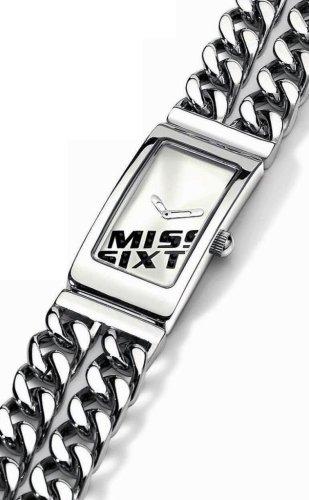 Miss Sixty Just time SJ4003 - Reloj de mujer de cuarzo, correa de acero inoxidable color plata: Amazon.es: Relojes