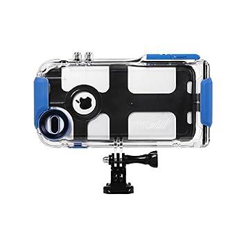 ProShot PTUPLUS Carcasa para Apple iPhone 8 Plus/7 Plus/6 Plus, impermeable, transparente